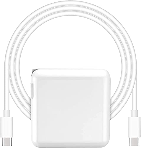 Replacement Mac Book Pro Charger, 87W USB C Power Adapter Compatible with 13/15 Inch After 2016, for...