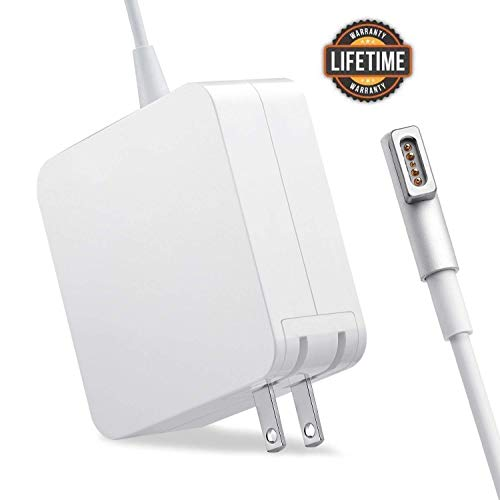 Mac Book Pro Charger, AC 60w Magsafe 1 Power Adapter Magnetic L-Tip Connector Charger for Mac Book...