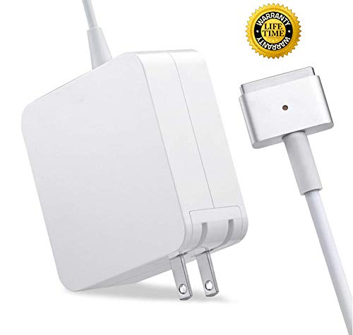 Mac Book Pro Charger - 85W 2 T-Tip Adapter Charger for Mac Book Pro 13 15 and 17 Inch with Retina...