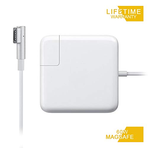 Mac Book Pro Charger, Replacement 60W Magsafe 1 L-Tip Power Adapter Charger for MacBook Pro...