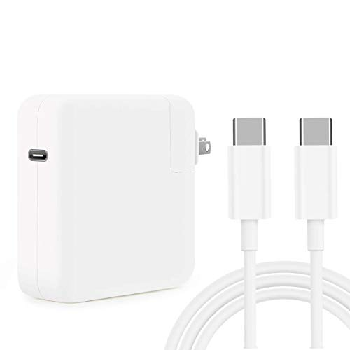 HuanXiLu Replacement Mac Book Pro Charger, 61W USB C Charger Power Adapter for MacBook Pro 13 Inch...