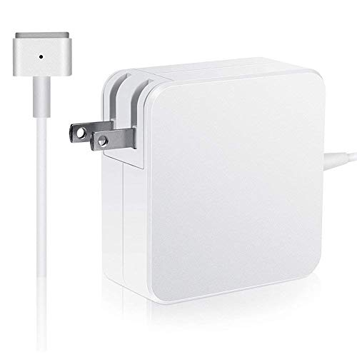 Mac Book Pro Charger, AC 60W Magsafe2 T-Tip Power Adapter Charger Replacement for MacBook Pro 13.3'...