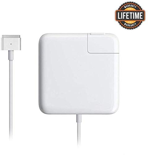 Mac Book Pro Charger, 60W Magsafe 2 T-tip Power Adapter Charger Compatible with MacBook Charger/Mac...