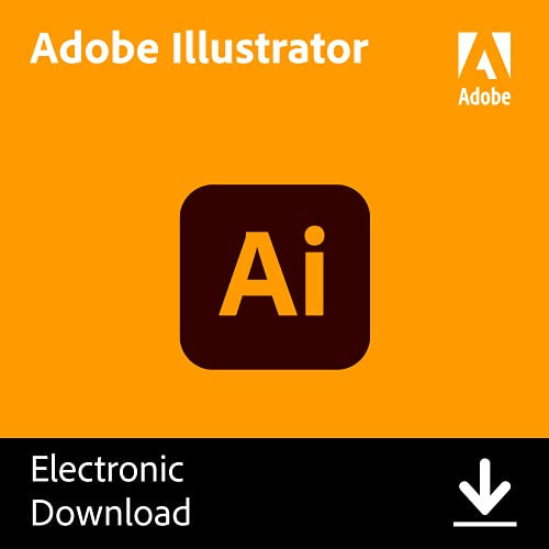 Adobe Illustrator| Vector Graphic Design Software | 12-Month Subscription with Auto-Renewal,...