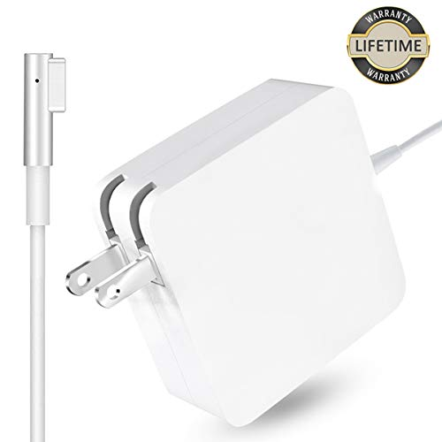 Mac Book Pro Charger, 60W Magsafe Power Adapter Magnetic L-Tip Connector Charger for Mac Book and...