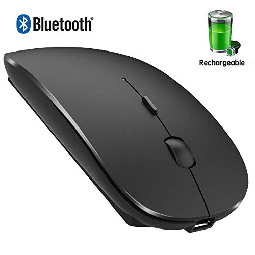 Rechargeable Bluetooth Mouse for MacBook Pro Wireless Bluetooth Mouse for Mac Laptop MacBook Air...