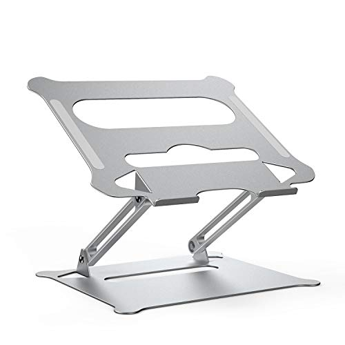 Laptop Stand for Desk KXLY Ergonomic Aluminum Laptop Computer Stand Laptop Riser Adjustable Notebook...