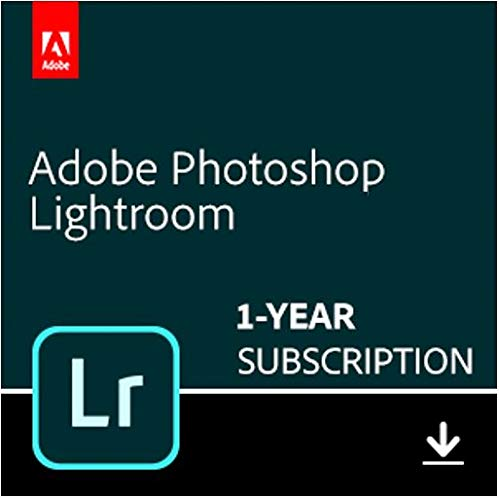 Adobe Lightroom | Photo editing and organizing software | 12-month Subscription with auto-renewal,...