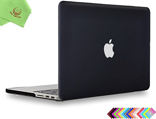 UESWILL Smooth Matte Hard Case Cover for (Mid 2012-Mid 2015) MacBook Pro 15 inch with Retina Display...