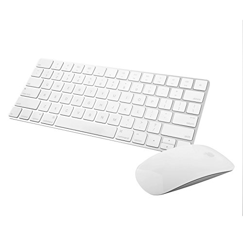 Apple Wireless Magic Keyboard 2 -MLA22LL/A with Apple Magic Bluetooth Mouse 2 -MLA02LL/A (Renewed)