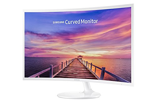 Samsung 32-Inch Widescreen FHD Curved LED Monitor, 1920x1080 Resolution, 16:9 Aspect Ratio, 4ms...
