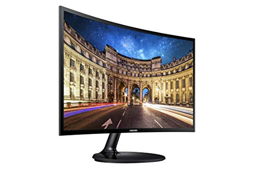 Samsung LC24F390FHNXZA 24-inch Curved LED Gaming Monitor (Super Slim Design), 60Hz Refresh Rate...