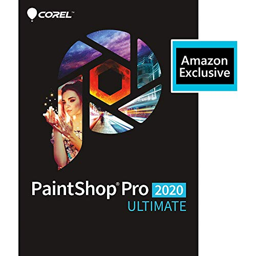 Corel | PaintShop Pro 2020 Ultimate | Photo Editing and Graphic Design | Amazon Exclusive Includes...