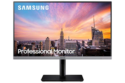 Samsung Business S24R650FDN SR650 Series 24 inch IPS 1080p 75Hz Computer Monitor for Business with...