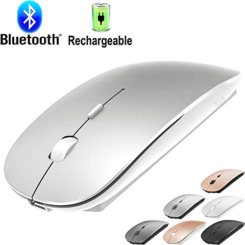 Bluetooth Mouse for MacBook pro/Air/Laptop/Mac,Rechargeable BT Mouse,Wireless Mouse for Windows...