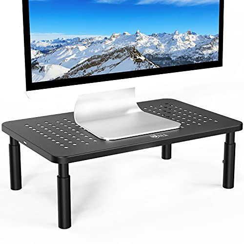 WALI Monitor Stand Riser for Computer, Laptop, Printer, Notebook and All Flat Screen Display with...
