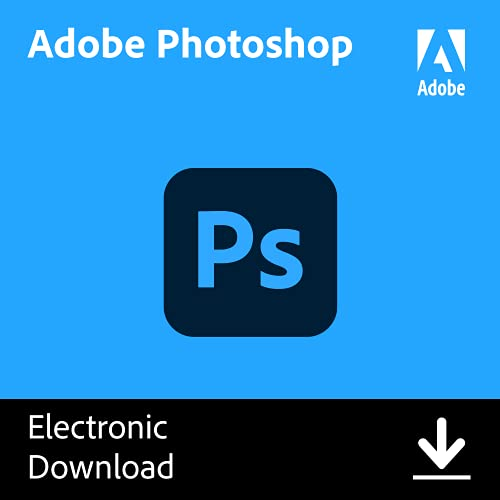 Adobe Photoshop | Photo, image, and design editing software | 12-month Subscription with...