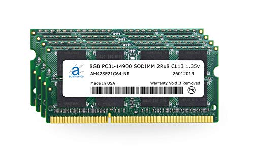 Adamanta 32GB (4x8GB) Apple Memory Upgrade Compatible with Late 2015 iMac 27' Retina 5K Display...