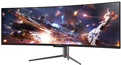 Sceptre Curved 49 inch (5120x1440) Dual QHD 32:9 Gaming Monitor up to 120Hz DisplayPort HDMI...