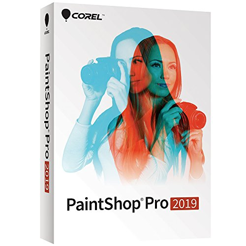Corel Paintshop Pro 2019 - Photo Editing and Graphic Design Suite [PC Disc]