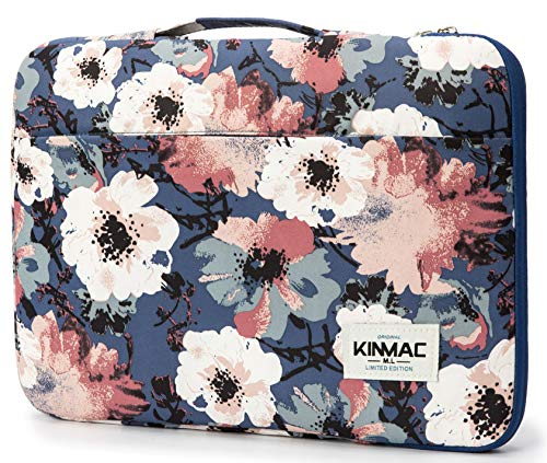 Kinmac Camellia 360° Protective Waterproof 12.5 inch-13.3 inch Laptop Case Bag Sleeve with Handle...