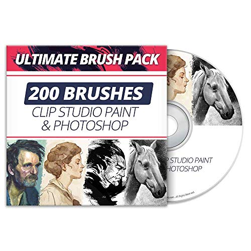 Ultimate Brush Pack For CLIP STUDIO PAINT & PHOTOSHOP
