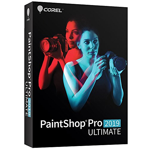 Corel Paintshop Pro 2019 Ultimate - Photo with Multi-Cam Video Editing Software for PC [Amazon...