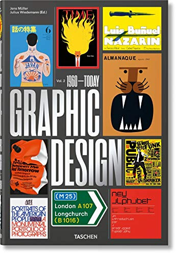 The History of Graphic Design. Vol. 2, 1960–Today --multilingual