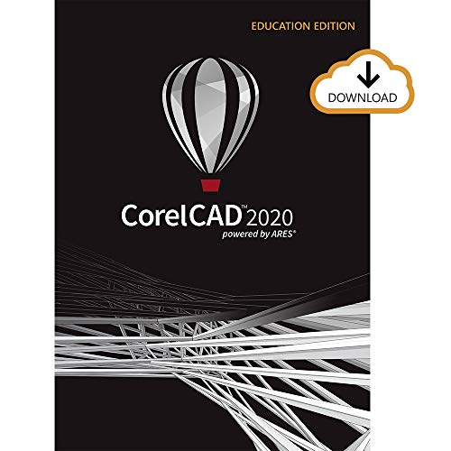 CorelCAD 2020   Design and Drafting Software   Education Edition [PC Download] [Old Version]