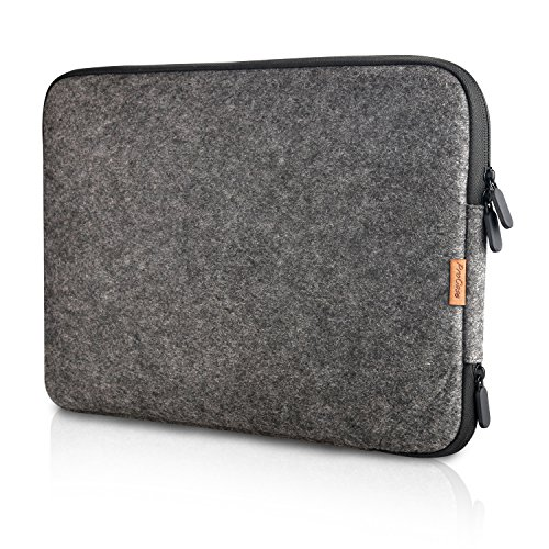 Procase 13-13.5 Inch Felt Laptop Sleeve Case Bag for MacBook Pro Air, Surface Book 3 13.5' and Most...