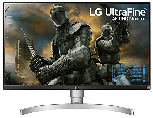 """LG 27UK650-W 27"""" Inch UHD (3840 x 2160) IPS Display with HDR 10, sRGB 99% Color Gamut, AMD..."""