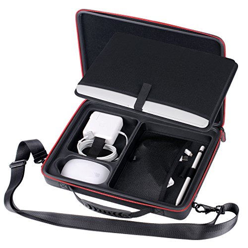 Smatree Carry Case Compatible for 12-13.3 inch MacBook Laptop (Black)