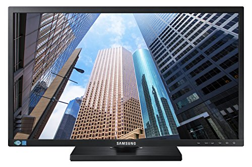 Samsung SE450 Series 24 inch FHD 1920x1080 Desktop Monitor for Business with DisplayPort, DVI, VGA,...