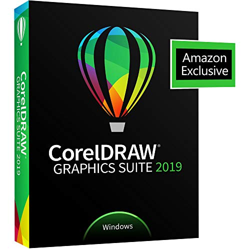 CorelDRAW Graphics Suite 2019 with ParticleShop Brush Pack for Windows - Amazon Exclusive - Upgrade...
