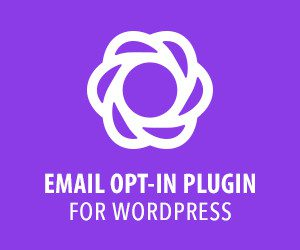 Email Optin Plugin