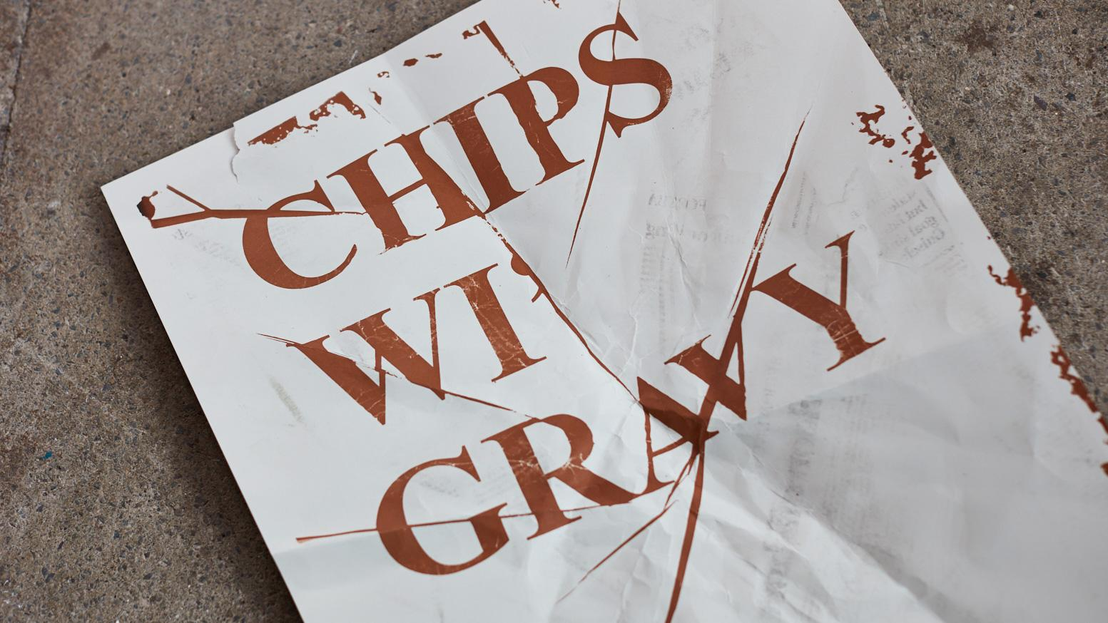 Chip sauce inks and the world's largest letterpress